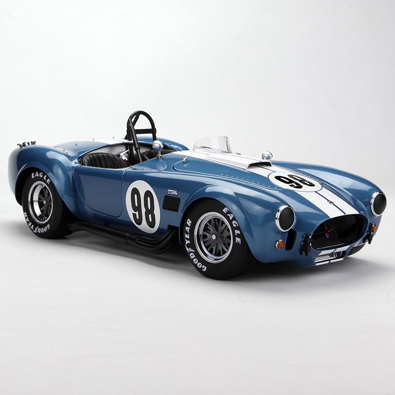 京商1:12 福特谢尔比眼镜蛇427s/c no.98合金仿真静态汽车模型 蓝色